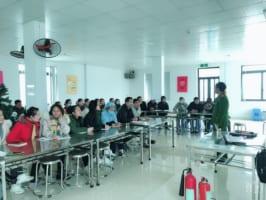 Công ty Nanofrance tập huấn công tác phòng cháy chữa cháy cho CBCNV