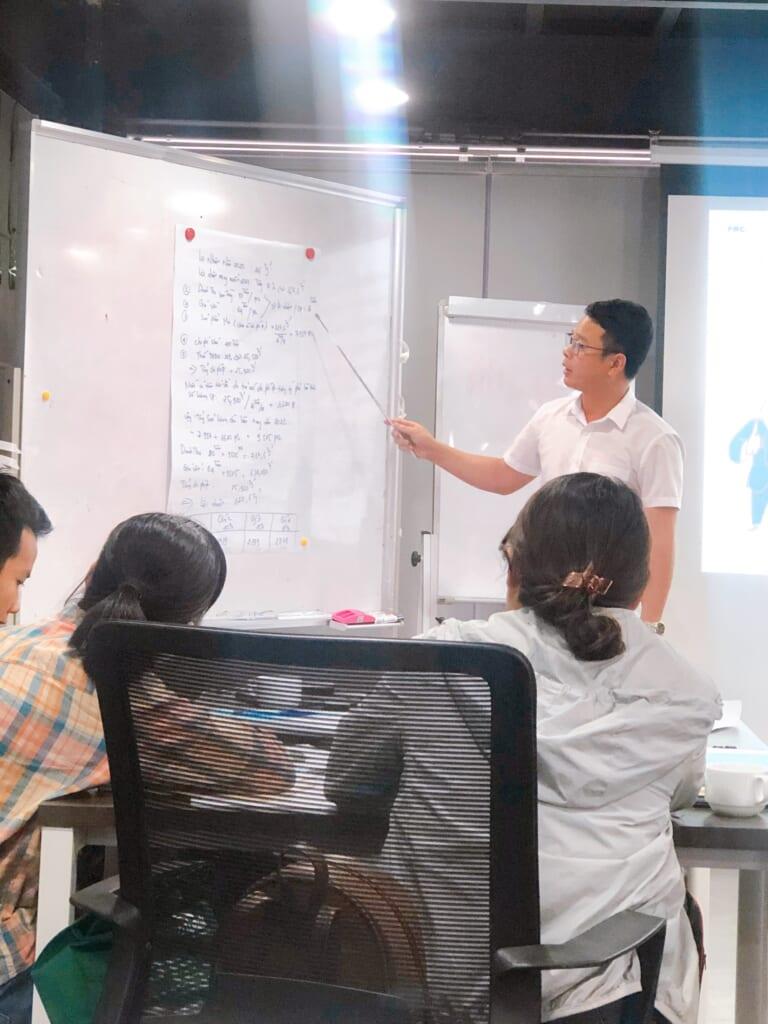 CBCNV tham gia khóa học đào tạo bồi dưỡng