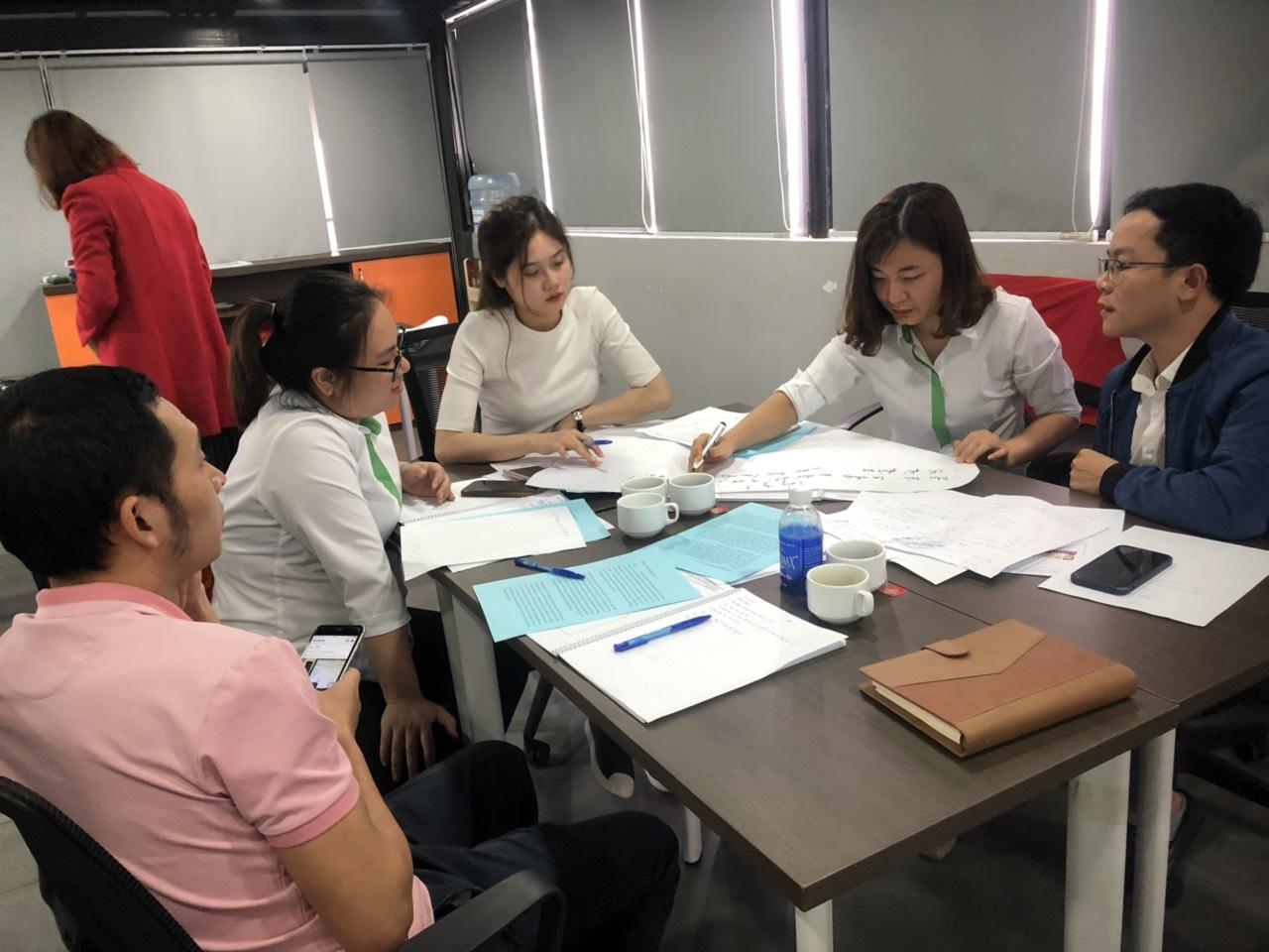 Nâng cao công tác làm việc nhóm