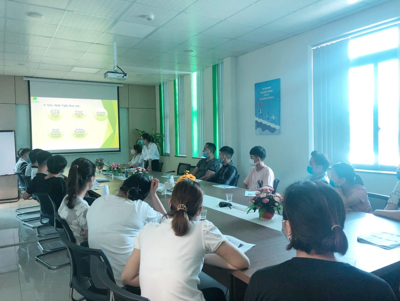 Nội dung Chương trình đào tạo hội nhập cho nhân sự mới